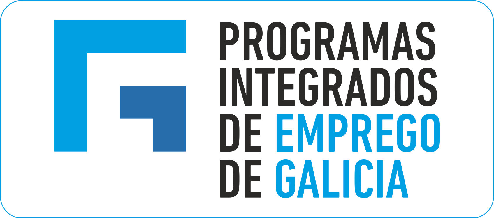 Logotipo Programas integrados 2019
