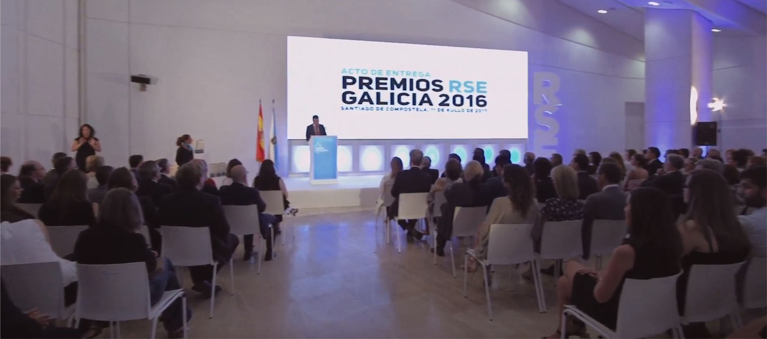 PREMIOS RSE A EMPRESAS <br/>ENTREGA DE PREMIOS 2016